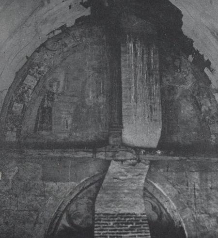 Scène de la Béatification de la Vierge