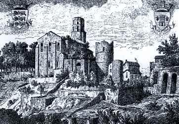 Château et Eglise de Nontron