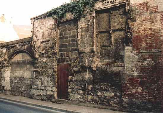 Façade dite de l'ancienne Maison dite des Templiers