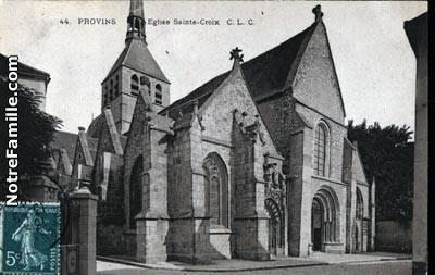 Eglise Sainte-Croix de Provins
