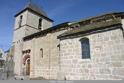 Eglise de Recoules d'Aubrac