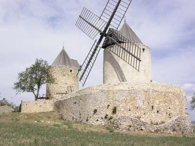 Moulins des Templiers de Régusse