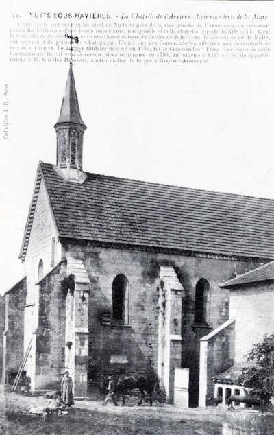 Chapelle de Saint-Marc au XIXe siècle