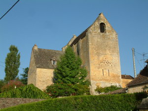 chapelle fortifiée de La Canéda, image Jack Bocar