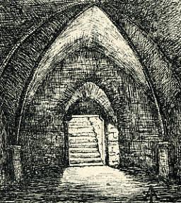 Cave voûtée de Sours
