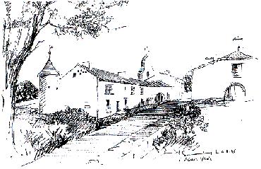 Gravure de Saint-Genis du Bois