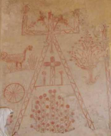 Saint-Genis du Bois, fresques