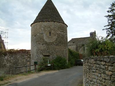 Château et Eglise de Temniac