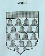 Blason du seigneur d'Aprey