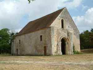 Chapelle templière de Villemoison