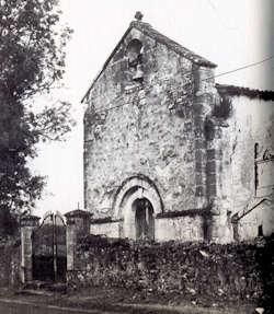 Lugeras, facade occidentale - Image M. Miguet