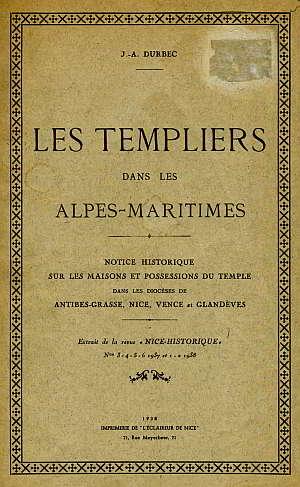 Les Templiers dans les Alpes-Maritimes