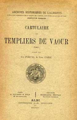 Cartulaires des Templiers de Vaour