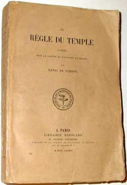 La Règle du temple