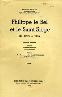 Philippe le Bel et le Saint-Siège