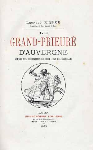 Le Grand Prieuré d'Auvergne