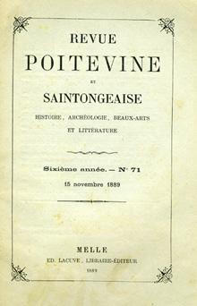Etude sur quelques commanderies des Templiers d'Aquitaine.