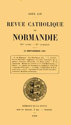 Revue catholique de Normandie