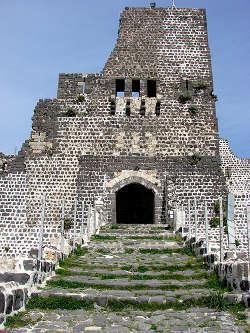 Entrée du château de Margat