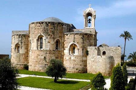 Cathédrale de Byblos, Saint-Jean et Saint-Marc