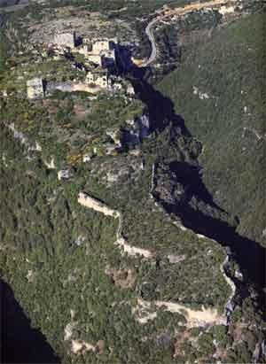 Vestiges du château de Sahyoun ou Saône