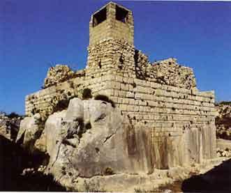 château de Smar Jubail - Mohamad Al Roumi et Jean Mesqui