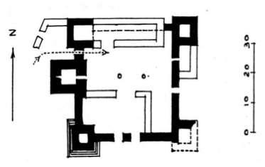Réduit du château d'Arirna
