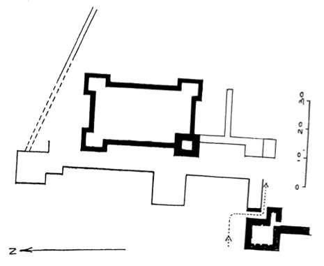 Détail du château de Bourzey