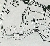 Le Quartier Pisan à Saint-Jean d'Acre