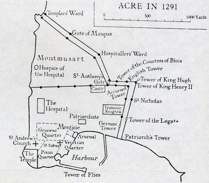 Saint-Jean d'Acre - Steven Runciman - 1951
