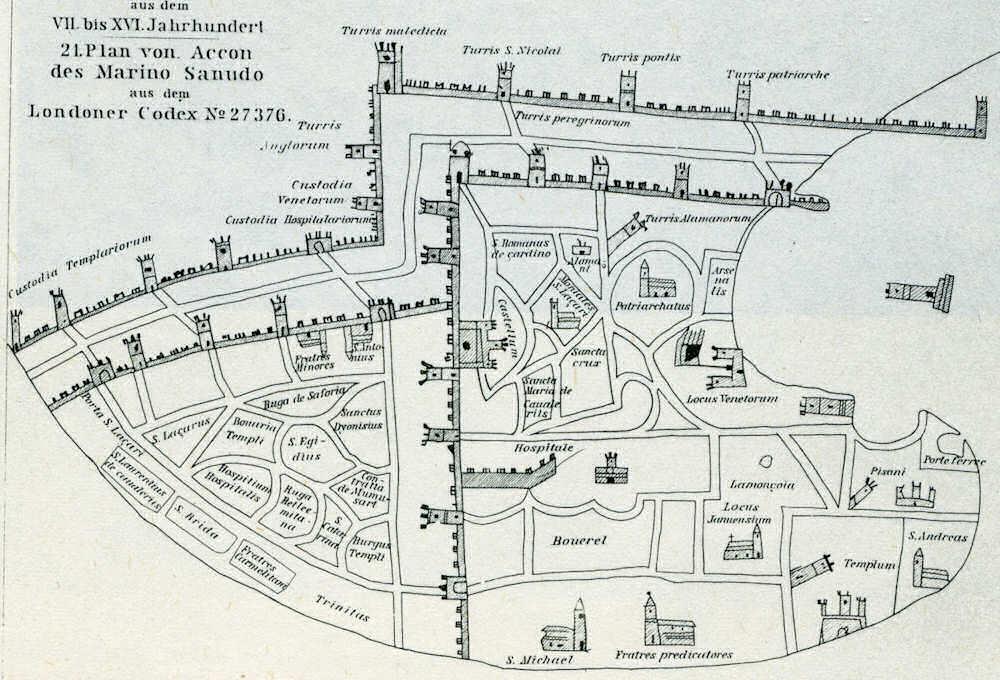 Les Quartiers de Saint-Jean d'Acre