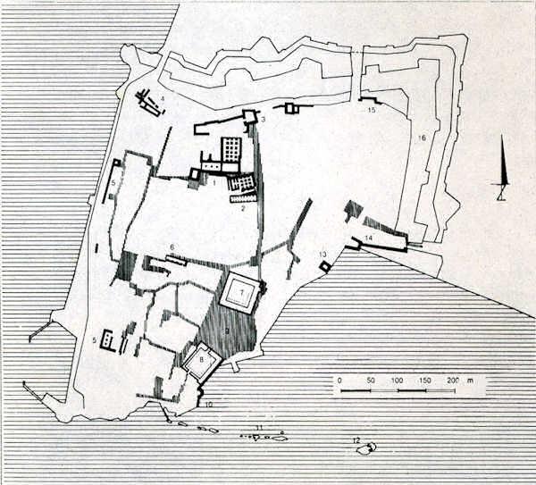Saint-Jean d'Acre - Architecture d'après Santino Lange