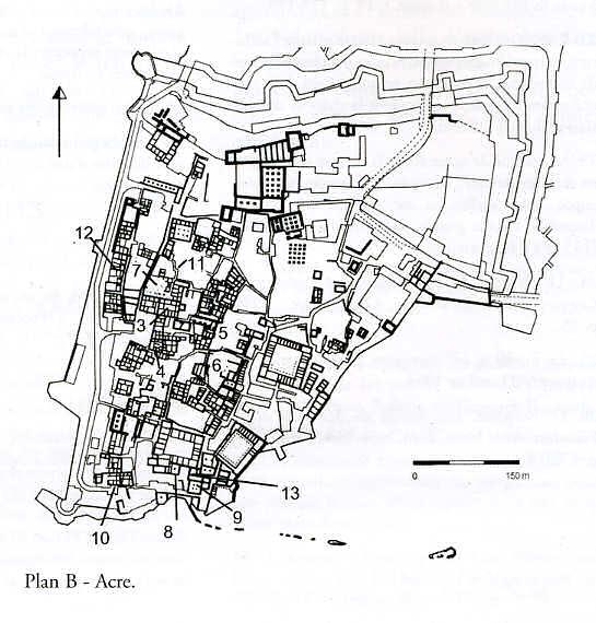 Plan de Saint-Jean D'Acre - Adrian Boas