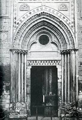 Portail d'une l'église de Saint-Jean-d'Acre